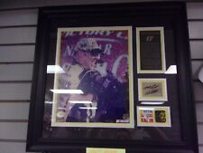 MATT KENSETH Signed Framed Photo Sheet Metal Firesuit 2003 Champ Autograph