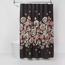 Floral Shower Curtain - Threshold™ 72x72 New