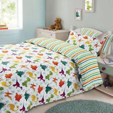 Linge de lit et ensembles blanc avec des motifs Rayé modernes