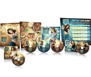 Country Heat (5 DVD Set Beachbody)  Workout Dance Mash Up Extras