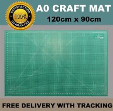 A0 5-Ply Self Healing Craft Cutting Mat 2-Sided Print Quilting - Scrapbooking