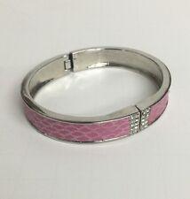 Name Brand Clasp bracelet Pink Fashion Jewelry Snake skin New
