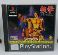 Tekken - Sony PlayStation 1 PS1 Complete - PAL Rare - Tested - Free UK P&P
