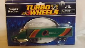 "Turbo Wheels Super Hauler Semi Truck & Trailer ""Q The Power To Reduce Friction"""