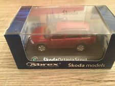 Abrex 1/43 Skoda Octavia break Scout red metallic