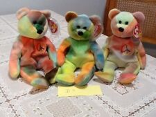 Ty beanie babies Garcia And 2 Peace Bears