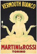 18x24 1920s Bellardi Vermouth Torino Italy Vintage Style Liquor Art Poster