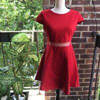 Lulu's Red Dress Size L