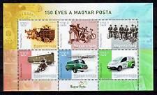 Hungary - 2017. Postal History Souvenir Sheet - Mnh