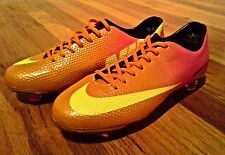 Nike mens soccer cleats Mercurial Vapor IX orange Size 7