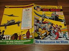 Charlier / Hubinon -- REX DANNY  # 27  // VERDAMMTEN der WÜSTE // Bastei 1977