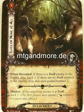 Lord of the Rings LCG - 2x lots or none at all #051 - Over hill and under Hill