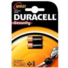 4 Stück DURACELL MN21 BATTERIEN Alkaline  - A23 - 23A - LR23A -  MN 21 - V23GA