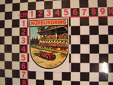 1960's Nurburgring Sticker - German Classic Car Circuit Racer Decal