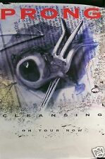 Prong 1993 Cleansing Original Tour Promo Poster