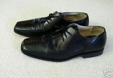 STANLEY BLACKER MENS LEATHER SHARP DRESS SHOES 12 M