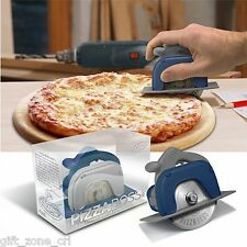 Fred PIZZA PRO BOSS 3000 - PIZZA CUTTER Circular SAW Shaped Slicer