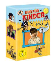Nur für Kinder  Box 2 - 4 Spielfilme  - 4 DVD´s .- Neu u. OVP