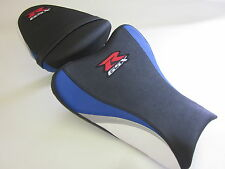 S19 Suzuki GSXR 1000 K7 K8 seat upgrade cover Blue/White/Silver - SET