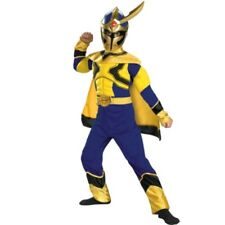 Power Ranger Size 4-6 Small Mystic Force SOLARIS KNIGHT Muscle Costume Child New