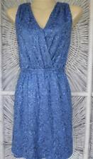 CHELSEA&VIOLET Stretch Sequined Sleeveless V-Neck Shirt TOP MINI DRESS Size XS