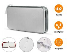 80 CD DVD Carry Case Disc Storage Holder CD Sleeve Wallet Ideal for Car Silver