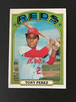 1972 Topps Set Break Tony Perez Cincinnati Reds #80 - EX/MT Condition