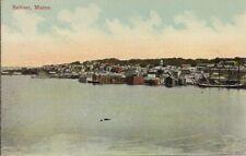 SUPERB VIEW OLD POSTCARD - BELFAST - MAINE - UNITED STATES C.1913