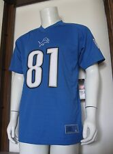 XL Youth NFL Players Calvin Johnson Detroit Lions Football Jersey Blue new NWT