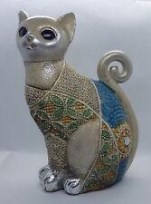 Chat décoratif en résine Gato Gold