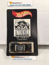 '55 Chevy Black * National Automobile Museum * Hot Wheels * H37