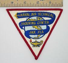 US NAVY PATCH NAVAL AIR TECH TRAINING CENTER JACKSONVILLE FLA Original Vintage