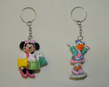 Disney Applause Minnie Mouse & Daisy Duck figure keychains lot of 2