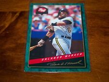 PITTSBURGH PIRATES ORLANDO MERCED 1994 POST #30 OF 30