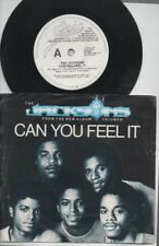 """THE JACKSONS Rare 1980 Oz Promo Only 7"""" P/C Single + Gig Flyer """"Can You Feel It"""""""