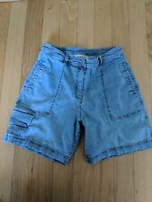 "Out Of The Blue J Jill Shorts Women's Size 4 Denim Shorts Inseam 7"""