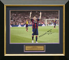 "Lionel Messi signed ""Celebration"" Photo Framed"