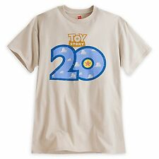 NEW Disney Store Toy Story 20th Anniversary Limited Release T-shirt Adult Large