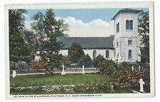 Vintage Postcard St. John In The Wilderness, Flat Rock, N.C. Near Hendersonville