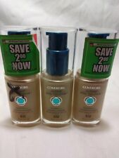 3 PACK COVERGIRL OUTLAST STAY FABULOUS 3 N 1 FOUNDATION 832 NUDE BEIGE FREE SHIP
