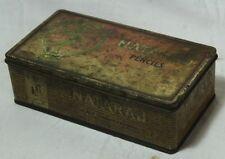 INDIAN OLD VINTAGE NATARAJ BLACK LEAD HEXAGONAL PENCILS TIN BOX COLLECTIBLE