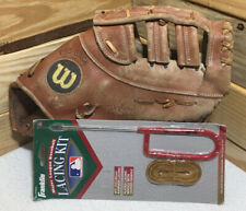 "Wilson ""The A2800"" Pro Stock First Baseman 1B Glove W/ Franklin Lacing Kit"