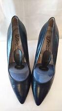 """Escarpins Haut de gamme  B.1 --  Cuir """"Bleu Marine""""   --  I.BOSSI  --  T. 40"""