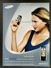 Samsung E700 - Mobile Phone - Magazine Advert #B3987