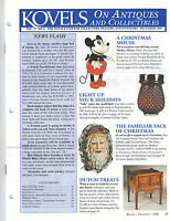 Kovels on Antiques and Collectibles Newsletter December 2000 Mickey Mouse Santas