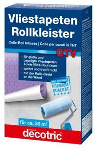 500g Vorteilspack original GTV Roll-Kleister für Vliestapeten Rollkleister