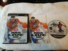 Sony PlayStation 2   NBA LIVE 2005    PS2 Play Station (ID#4166)