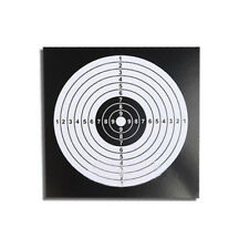 50PCS Archery Target Paper Face for Arrow Bow Shooting Hunting Practice Set