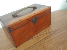 New listing Antique Vintage wood box for scientific for scientific or tool instruments Nice
