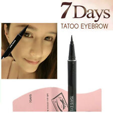 1pc Waterproof Brown 7Days Eye Brow Liner Eyebrow Liquid Tattoo Pen Long-Lasting